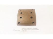 Накладка тормозная передняя 163x183 (8 отверстий) качество Createk