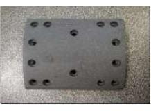 Накладка тормозная задняя A7 220x187 (14 отверстий) качество Huatai
