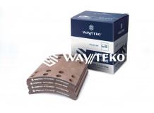 Накладка тормозная задняя 220х185 (16 отверстий) Wayteko
