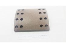 Накладка тормозная задняя 220x185 (16 отверстий) качество Createk