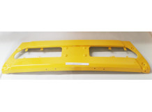 Бампер центр желтый