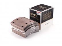 Накладка тормозная задняя 184х188 (8 отверстий) качество Createk