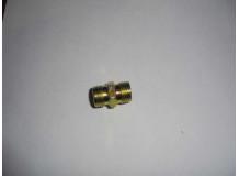 Фитинг соединительный (металл) 2*10d M10